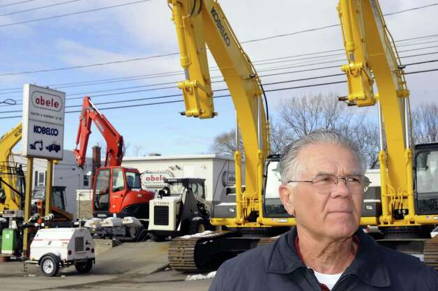 Rod Abele of  Abele Tractor and Equipment at his business on Everett Road on Friday Jan.18, 2013, in Colonie, N.Y. (Michael P. Farrell/Times Union) Photo: Michael P. Farrell