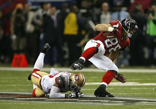 the San Francisco 49ers game against the Atlanta Falcons in the NFC Championship game at the Georgia Dome in Atlanta, GA., on Sunday January 20, 2013. Photo: Carlos Avila Gonzalez, The Chronicle