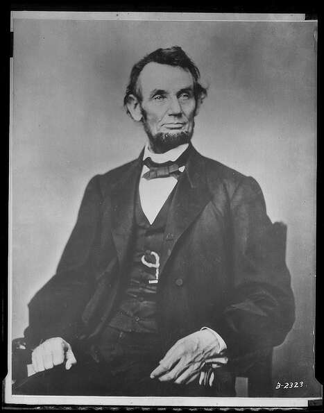 Abraham Lincoln — Honest Abe proclaimed the first Thanksgiving Day in 1863. The First Famil