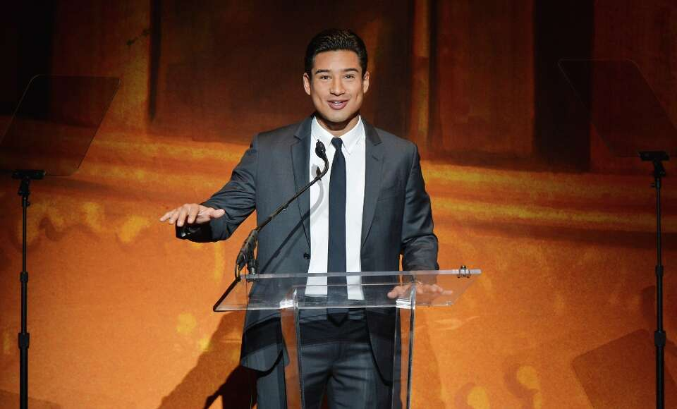 Mario Lopez speaks onstage at Latino Inaugural 2013: In Performance at Kennedy Center at The Kennedy