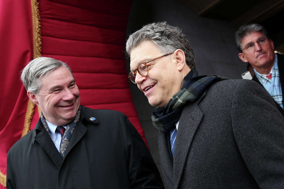 WASHINGTON, DC - JANUARY 21: U.S. Sen. Al Franken (D-MN) arrives for the presidential inauguration on the West Front of the U.S. Capitol January 21, 2013 in Washington, DC.   Barack Obama was re-elected for a second term as President of the United States. Photo: Win McNamee, Getty Images / 2013 Getty Images