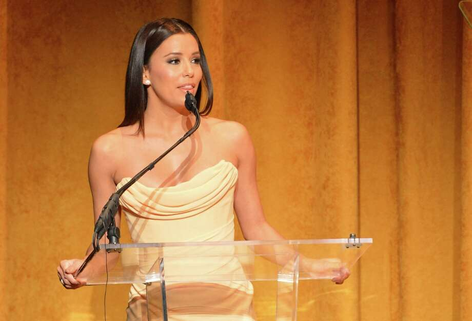 Actress Eva Longoria speaks at Latino Inaugural 2013: In Performance at Kennedy Center at The Kennedy Center on January 20, 2013 in Washington, DC. Photo: Rick Diamond, Getty Images For Latino Inaugura / 2013 Getty Images