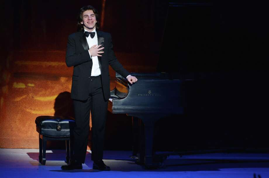 Pianist Llewellyn Sanchez-Werner performs at Latino Inaugural 2013: In Performance at Kennedy Center at The Kennedy Center on January 20, 2013 in Washington, DC. Photo: Rick Diamond, Getty Images For Latino Inaugura / 2013 Getty Images
