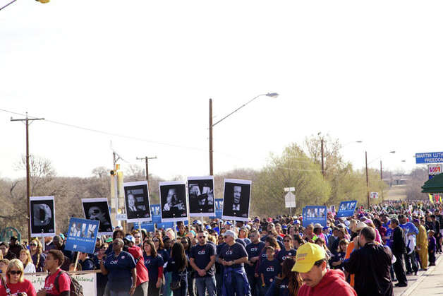 mySpy: 2013 San Antonio MLK March Photo: Xelina Flores-Chasnoff