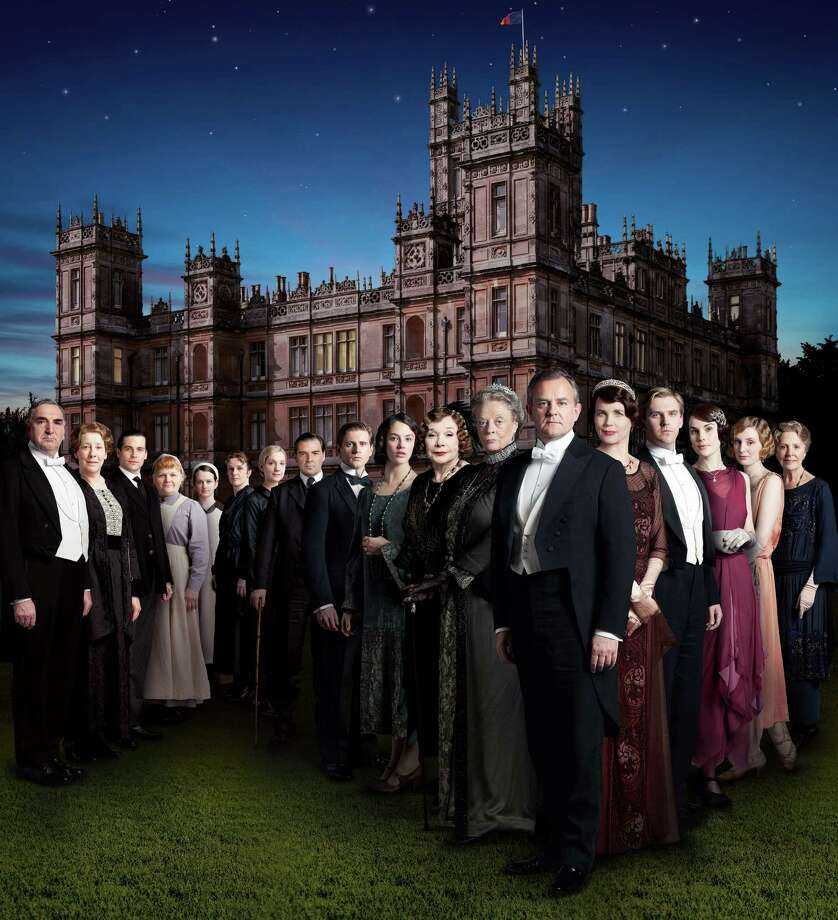 "The cast of the hit PBS series ""Downton Abbey,"" which is filmed at England's Highclere Castle. Fans can tour the castle and its grounds. (MCT) Photo: HANDOUT, McClatchy-Tribune News Service / MCT"