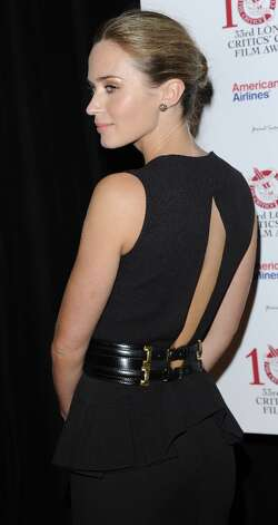 Emily Blunt attends the London Critics' Circle Film Awards at The Mayfair Hotel on January 20, 2013 in London, England. Photo: Stuart Wilson, Getty Images / 2013 Getty Images