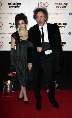 Helena Bonham Carter and Tim Burton seen at the 33rd London Critics Circle Film Awards at the May Fair Hotel on Sunday, Jan. 20, 2013, in London. Photo: Jon Furniss Photography, Associated Press / Invision