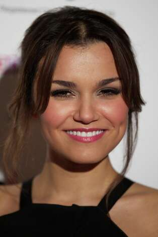 British actress Samantha Barks poses for pictures on the red carpet as she arrives for the 33rd London Critics Circle Film Awards in central London on January 20, 2013. Photo: ANDREW COWIE, AFP/Getty Images / Andrew Cowie