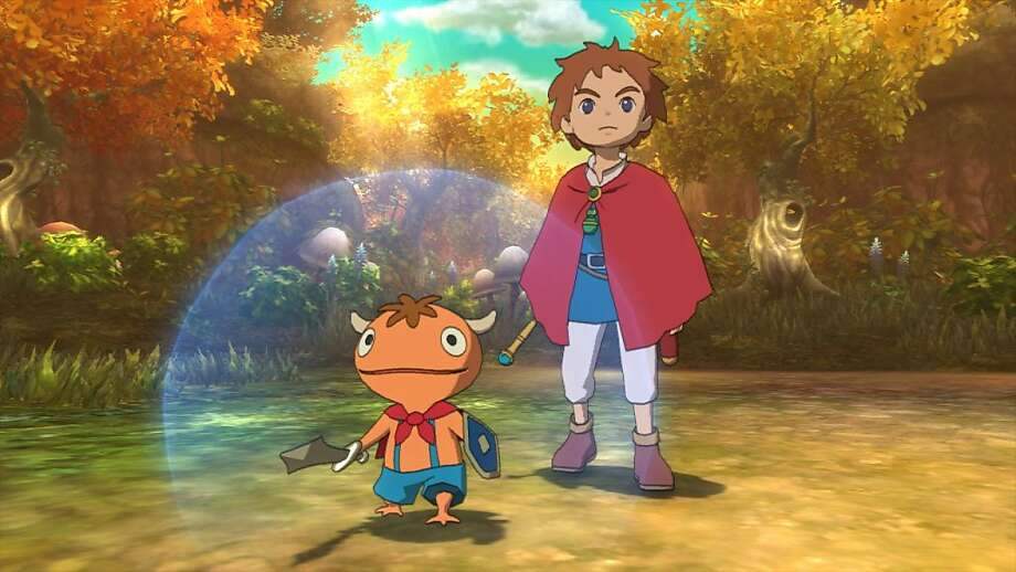 """Ni No Kuni"" is a collaboration between Level-5 and famed animation house Studio Ghibli. Photo: Namco Bandai"