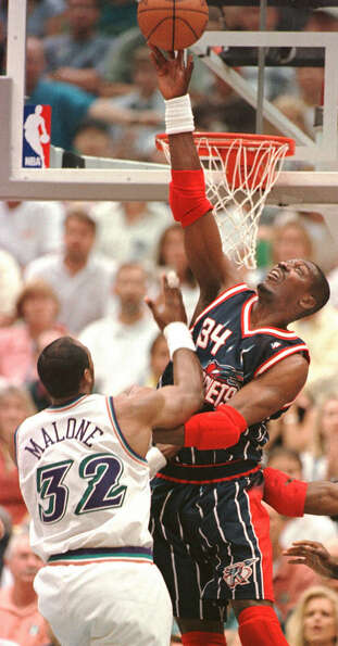 The Mailman Karl Malone had a hard time delivering against the Dream.