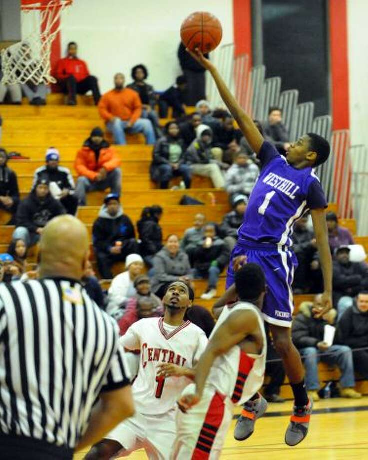 Sophomore Jeremiah Livingston has been one of the stars on the surprising Westhill boys basketball team.