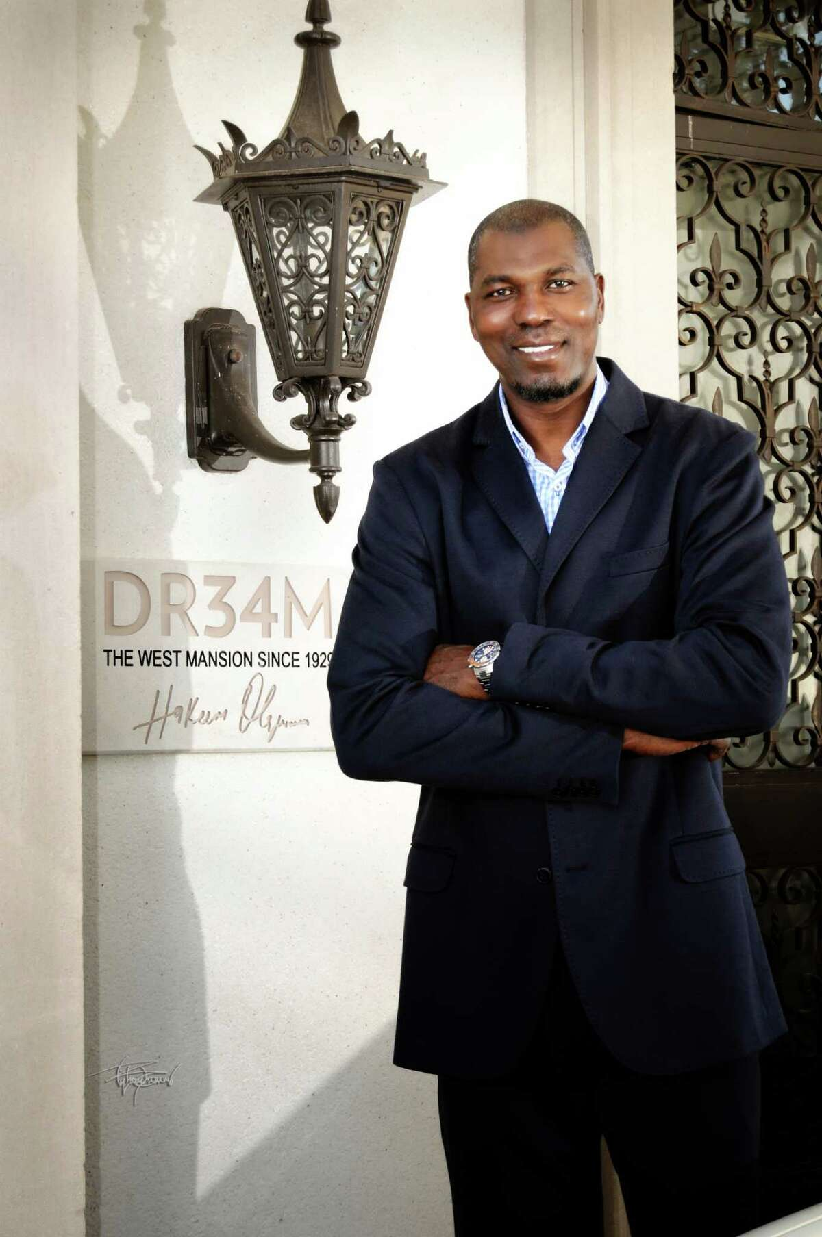 DR34M, Hakeen Olajuwon's new clothing line, is the latest resident of Clear Lake's West mansion.