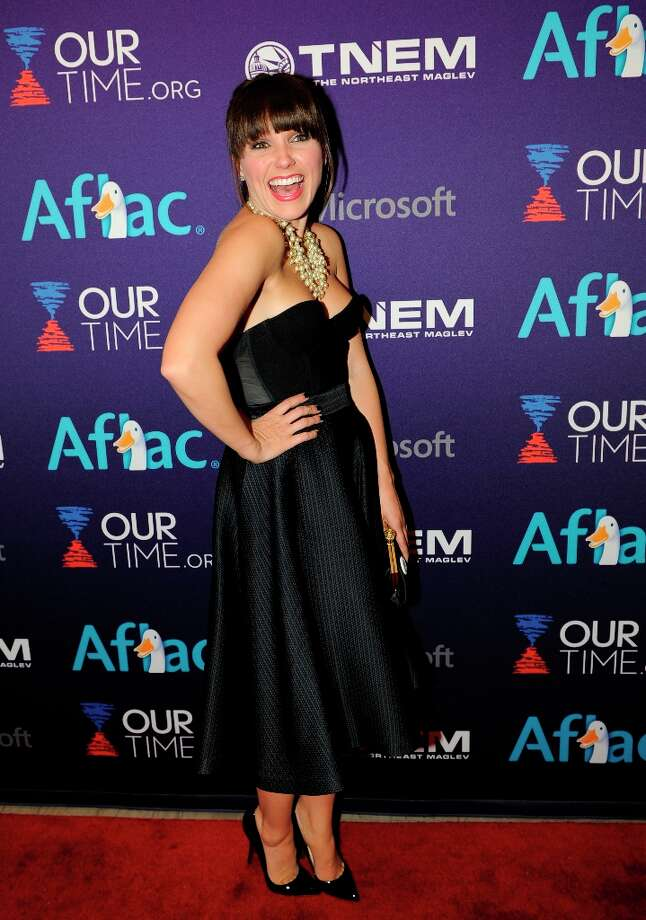 Actress Sophia Bush arrives at the OurTime.org Inaugural Youth Ball Generation Now Party on Saturday, Jan. 19, 2013, in Washington. Photo: Nick Wass, Associated Press / Invision