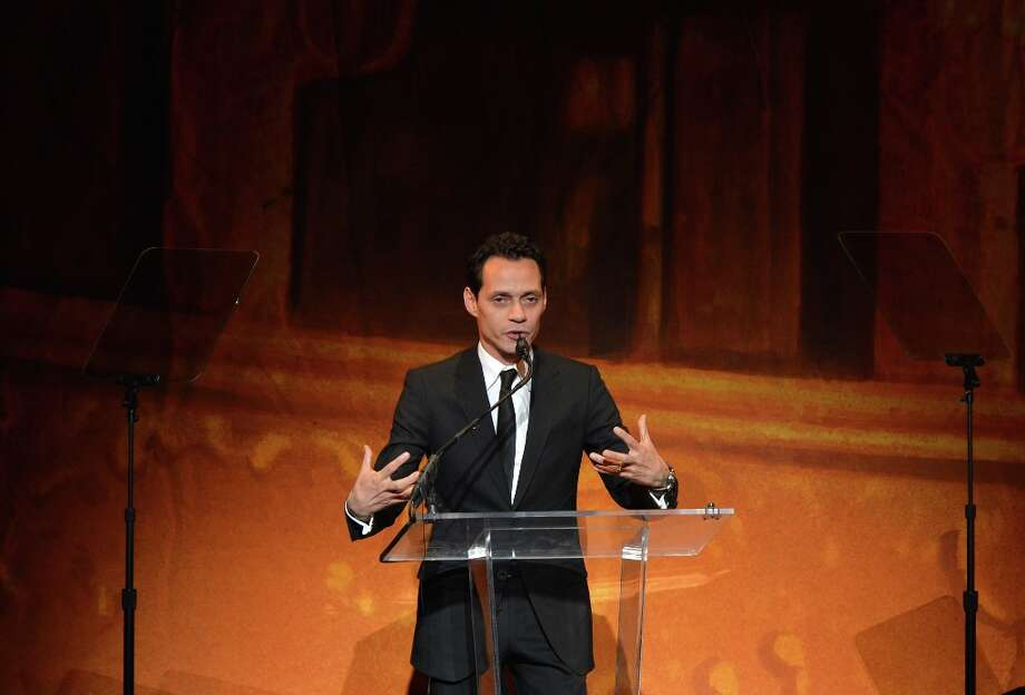 Musician Marc Anthony speaks at Latino Inaugural 2013: In Performance at Kennedy Center at The Kennedy Center on January 20, 2013 in Washington, DC. Photo: Rick Diamond, Getty Images For Latino Inaugura / 2013 Getty Images