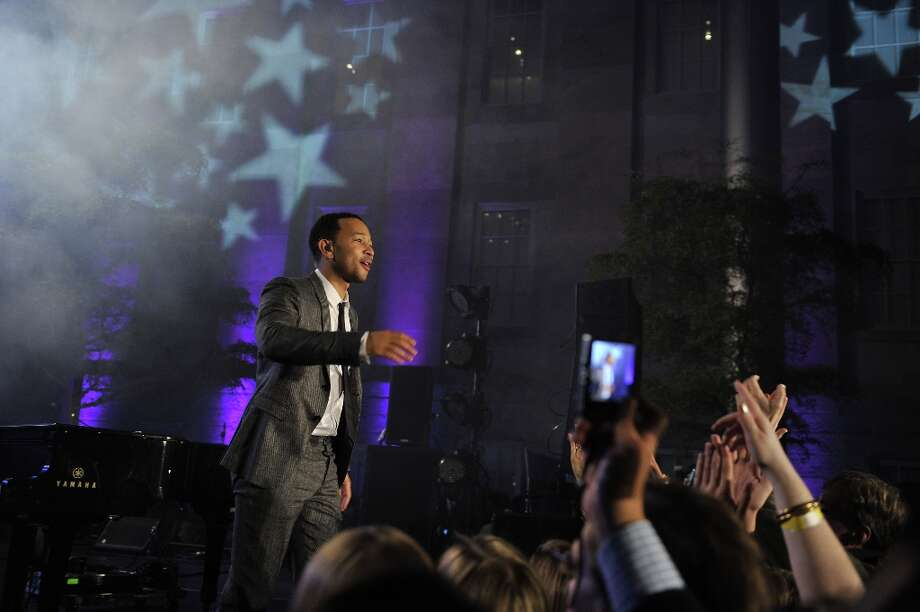 Recording artist, actor John Legend performs at the Inaugural Youth Ball hosted by OurTime.org on January 19, 2013 in Washington, United States. Photo: Stephen Lovekin, Getty Images For OurTime.org / 2013 Getty Images