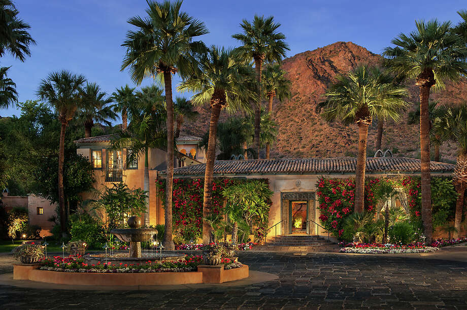 A property with a rich, romantic history, the Royal Palms sits in the shadow of Camelback Mountain. Photo: Mark Boisclair, Royal Palms / ©2012 Mark Boisclair Photography Inc. 602-957-6997 2512 E Thomas Road, Ste 1 Phoenix, AZ 85016