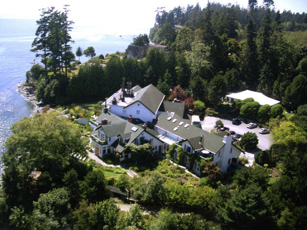 Surrounded by gardens filled with edible flowers, Sooke Harbour House is a sanctuary on the steps of the Pacific Photo: Sooke Harbour House / Sooke Harbour House