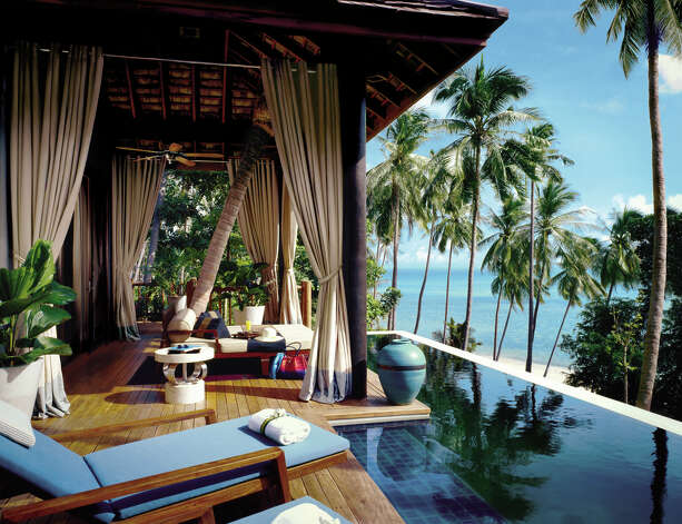 The Four Seasons Koh Samui is designed to be open to the elements, and to the spectacular views. Photo: Four Seasons Koh Samui / Four Seasons Koh Samui