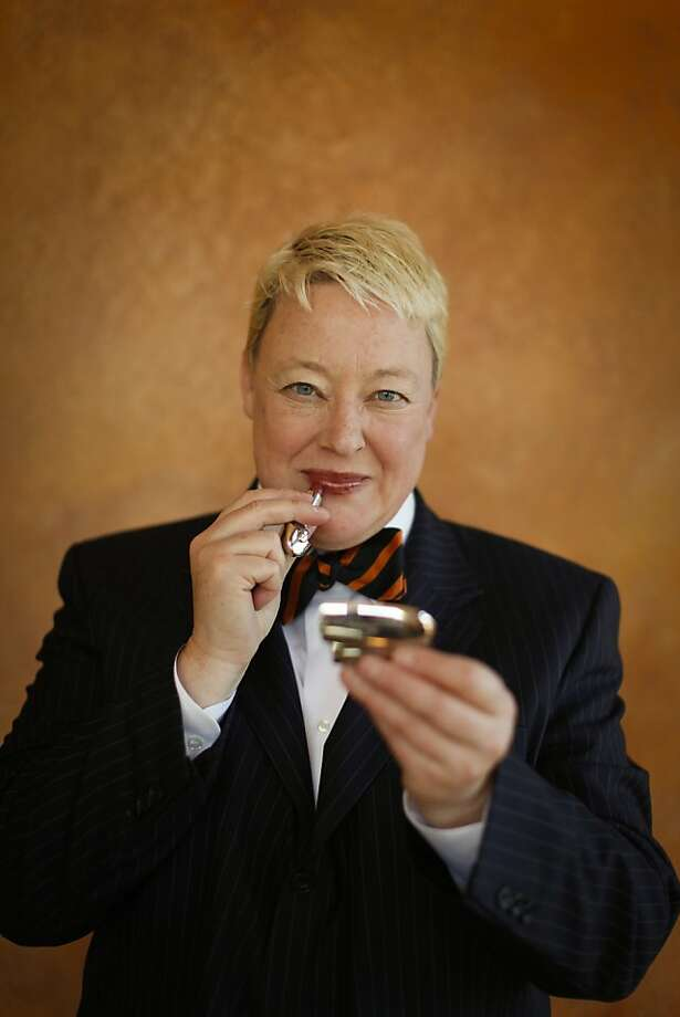Zel Anders of Tomboy Tailors is seen in Sausalito, Calif., on Monday, Jan. 21, 2013. Photo: Russell Yip, The Chronicle