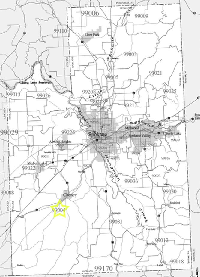 15. (tie) 99004: In this Cheney-area ZIP code, 32.6 percent of workers draw a government paycheck. Photo: /