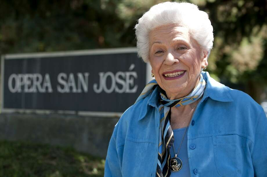 Opera legend and founder of Opera San Jose, Irene Dalis poses for a portrait in San Jose, Calif., on Wednesday, August 18, 2010. Photo: Chad Ziemendorf, The Chronicle