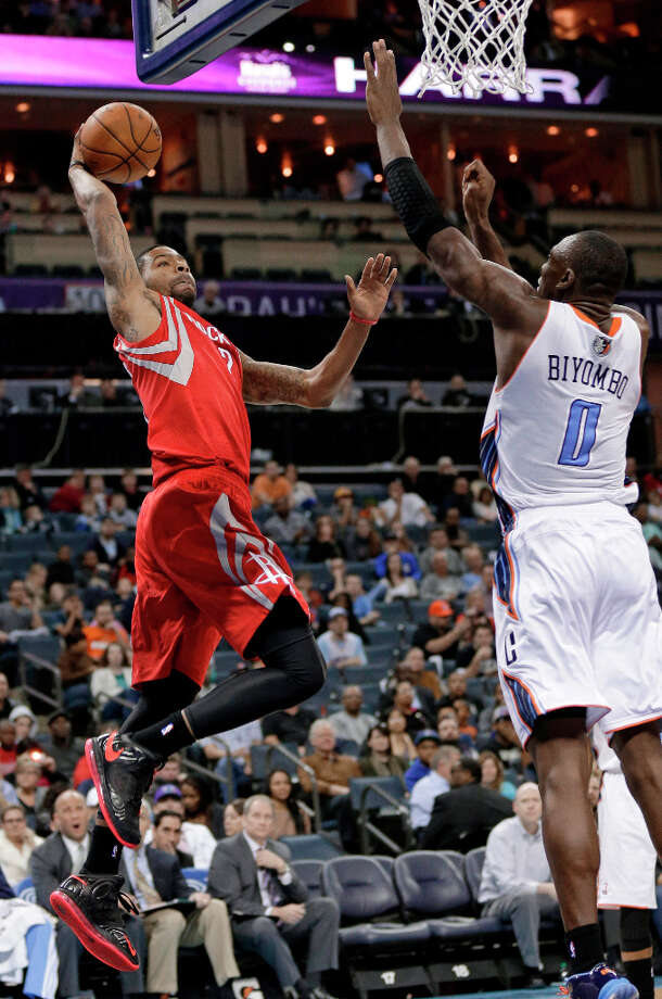 Jan. 21: Rockets 100, Bobcats 94Marcus Morris scored 21 points in 33 minutes off the bench. Photo: Chuck Burton, Associated Press / AP