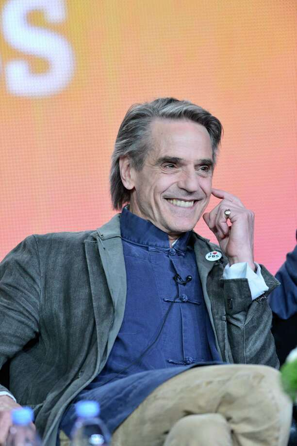 Jeremy Irons entertained with clever digs at 'Downton Abbey'. Photo: Courtesy Photo / PBS