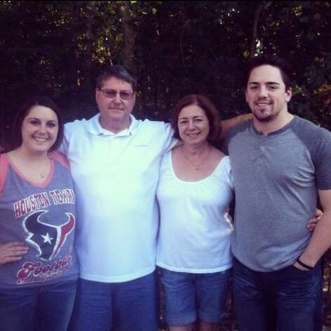 A photo of the Victor Lovelady and his family, posted on the Facebook page of his widow Maureen Lovelady. Victor Lovelady was a Houston engineer killed while being held hostage by militants in an Algeria natural gas facility. The photo shows the couple, along with their two children, Erin and Grant.