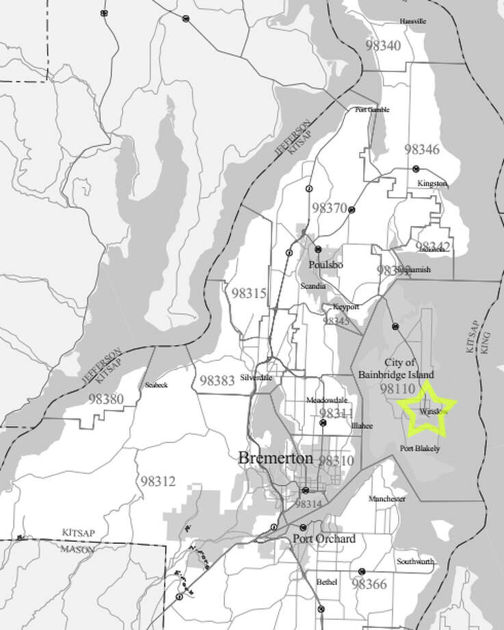 9. 98110: In this Bainbridge Island ZIP code, the median price of an occupant-owned home was $610,300. Photo: .