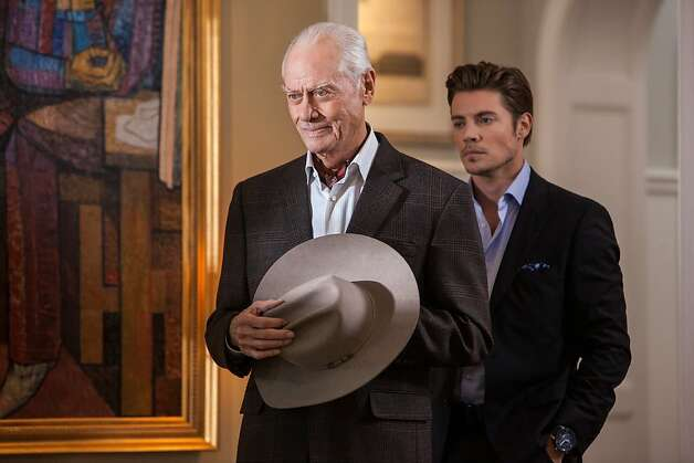 "Larry Hagman appears as J.R. Ewing, the scheming patriarch of the Ewing clan, in five episodes of the second season of ""Dallas"" before his death. Photo: Skip Bolen, TNT"