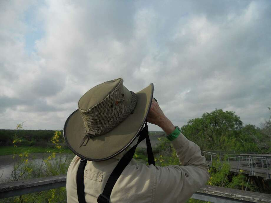 Birders visit nature refuges in the Lower Rio Grande Valley to spot hundreds of migrating and neotropical species. Photo: San Antonio Express-News