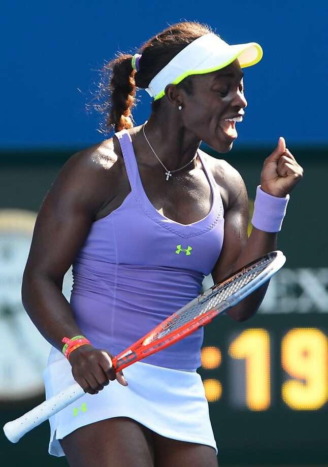 Sloane Stephens is on the rise at 19, but she lost to Serena Williams this month. Photo: William West, AFP/Getty Images