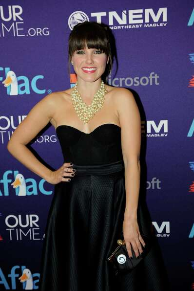 Actress Sophia Bush arrives at the OurTime.org Inaugural Youth Ball Generation Now Party.