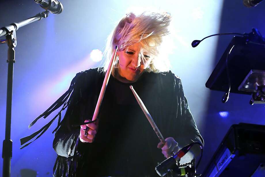 Ellie Goulding performs on stage at Terminal 5 on January 21, 2013 in New York City. Photo: Neilson Barnard, Getty Images