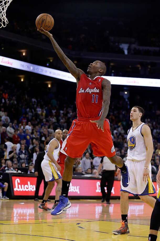 OAKLAND, CA - JANUARY 21: Jamal Crawford #11 of the Los Angeles Clippers goes up for a basket against the Golden State Warriors at Oracle Arena on January 21, 2013 in Oakland, California. NOTE TO USER: User expressly acknowledges and agrees that, by downloading and or using this photograph, User is consenting to the terms and conditions of the Getty Images License Agreement.  (Photo by Ezra Shaw/Getty Images) Photo: Ezra Shaw, Getty Images