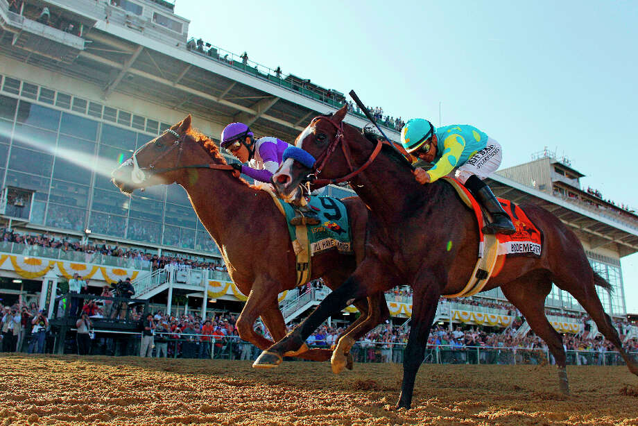 Unique local sporting event: The Preakness vs.... Photo: Matt Slocum, Associated Press / AP