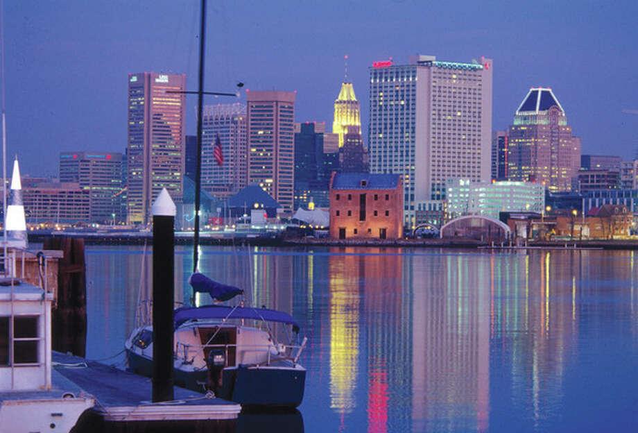 Touristy areas: Inner Harbor vs....