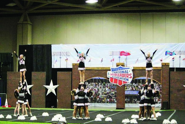 JHS cheerleaders at nationals. Photo: Courtesy Photo