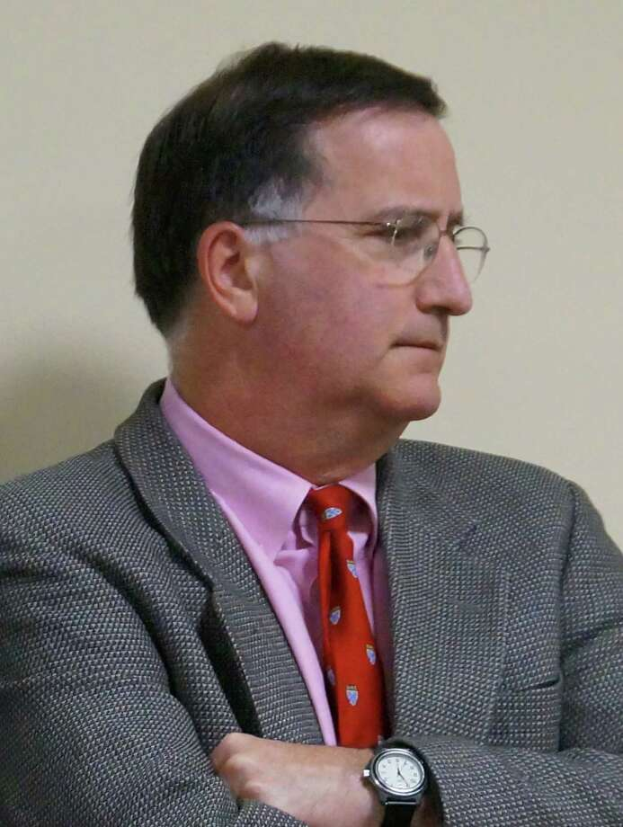 Supt. of Schools David Title topped the list of wage earners for 2012, with earnings of $283,920. Photo: Genevieve Reilly / Fairfield Citizen