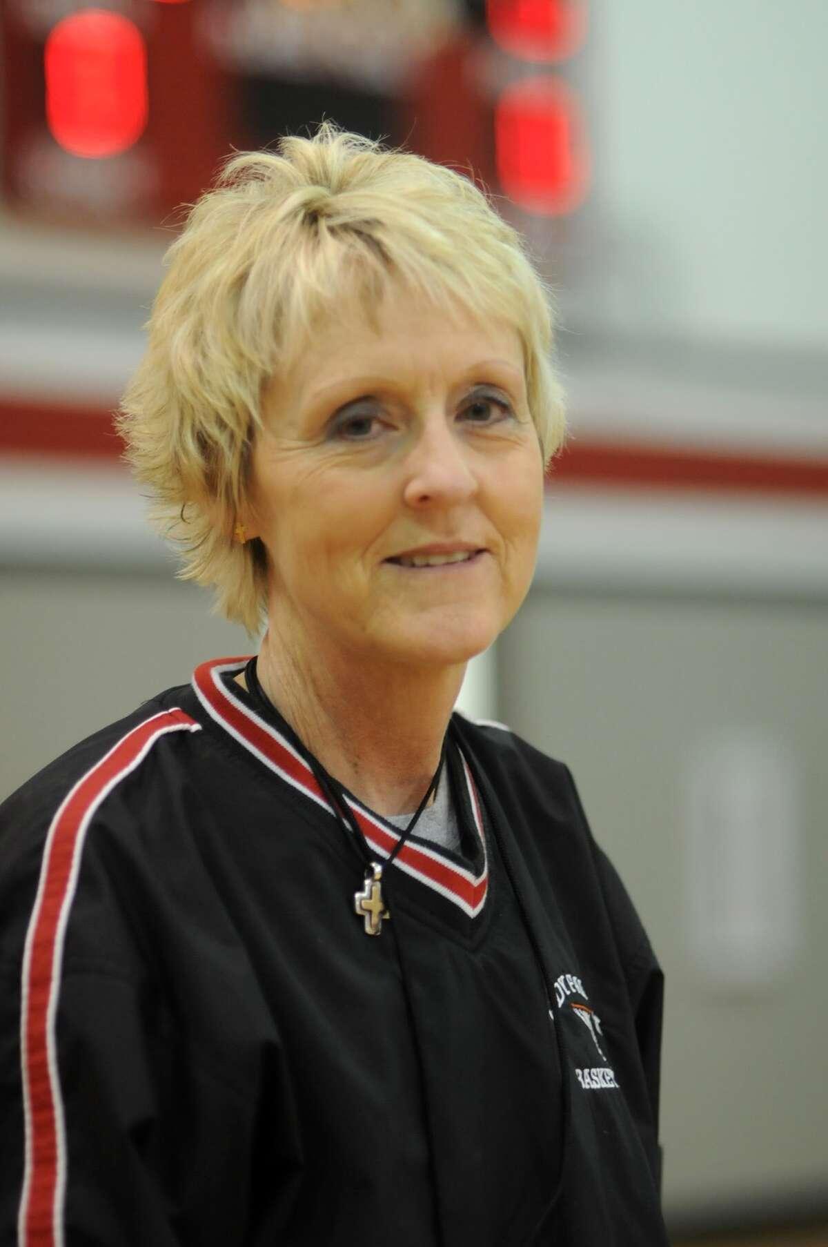 Huffman Hargrave Head Girls Basketball Coach Amy Daniels