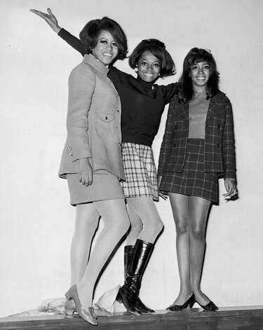 Diana Ross (center) began with the Supremes in the early 1960s with Florence Ballard (left) and Mary Wilson. Getty Images Photo: GETTY IMAGES