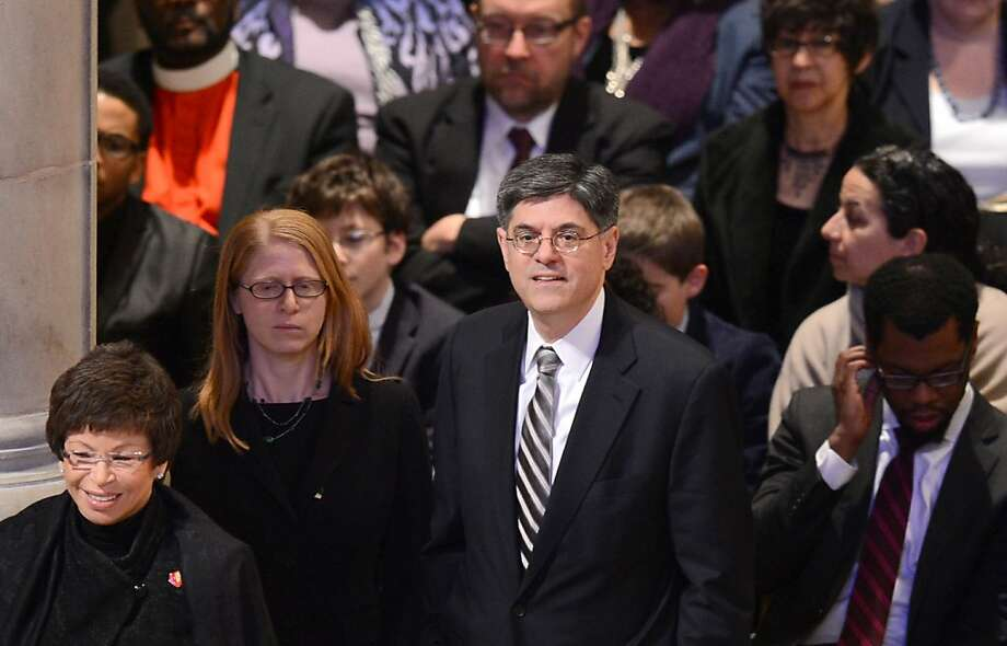 White House Chief of Staff Jack Lew attends a prayer service at Washington National Cathedral on January 22, 2013 in Washington, DC. Photo: Saul Loeb, AFP/Getty Images