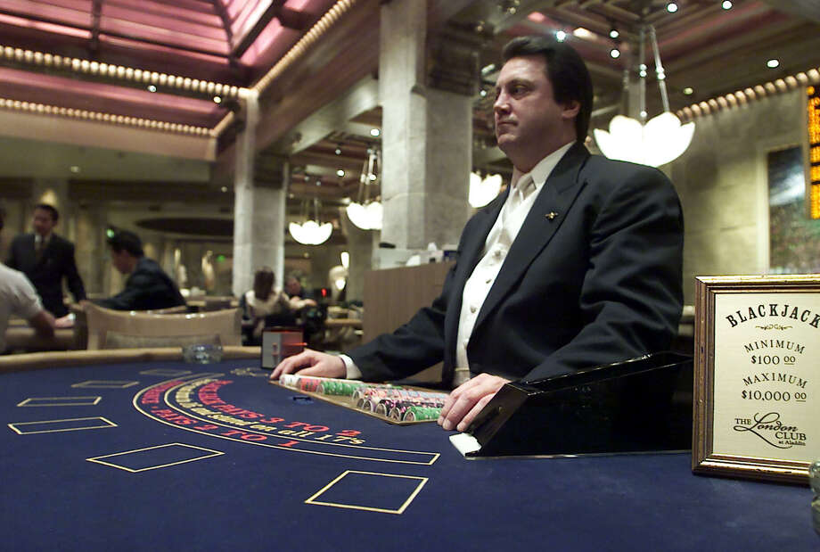 Gaming dealer: 17.6 percentReason why: Gambling can be a fun activity, but it can also become an addiction. Dealers have to watch as addicts and average Joes throw away their hard-earned money on a deck of cards or a roll of the dice.Source: PayScale.com via CNN Money Photo: LORI CAIN, AP / AP
