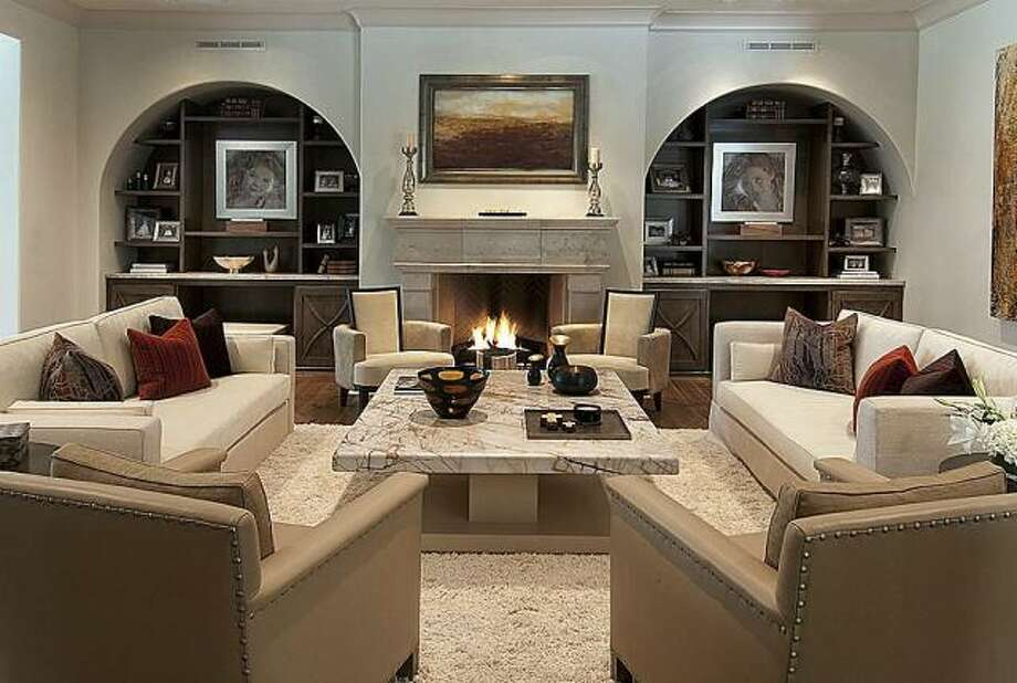The home features a grand gallery area laid in marble flooring and a breathtaking display of the glass entrance doors that leads into the outer grounds.Read more about the Bagwell Family Trust home. Photo: John Daugherty Realtors