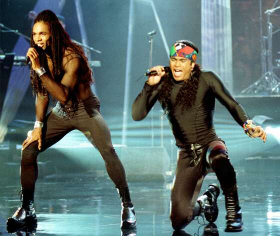 Milli Vanilli were the originators of the lip-sync scandal.  Photo: CRAIG FUJII, AP / AP