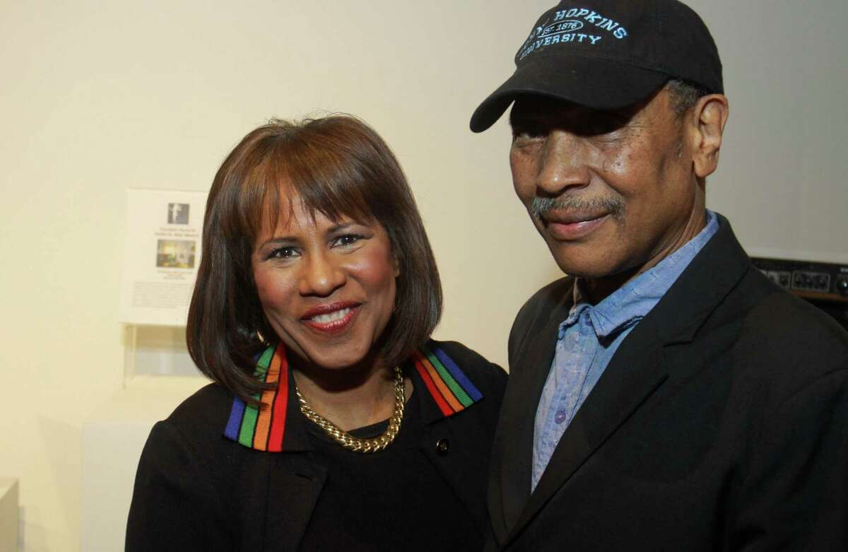 (For the Chronicle/Gary Fountain, January 17, 2013) Melanie Lawson and John Guess Jr.