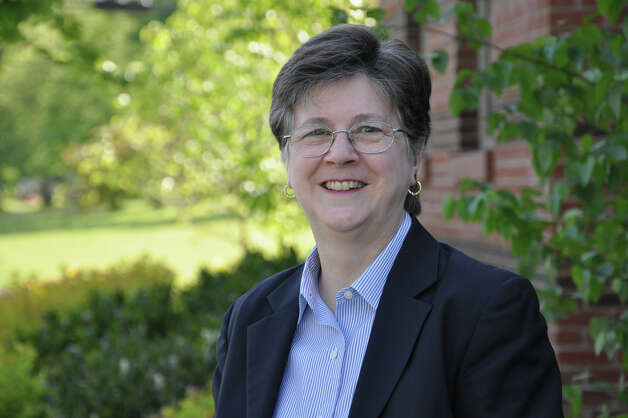 Darien Library Director Louise Berry will retire next year after 35 years of service. Photo: Contributed Photo
