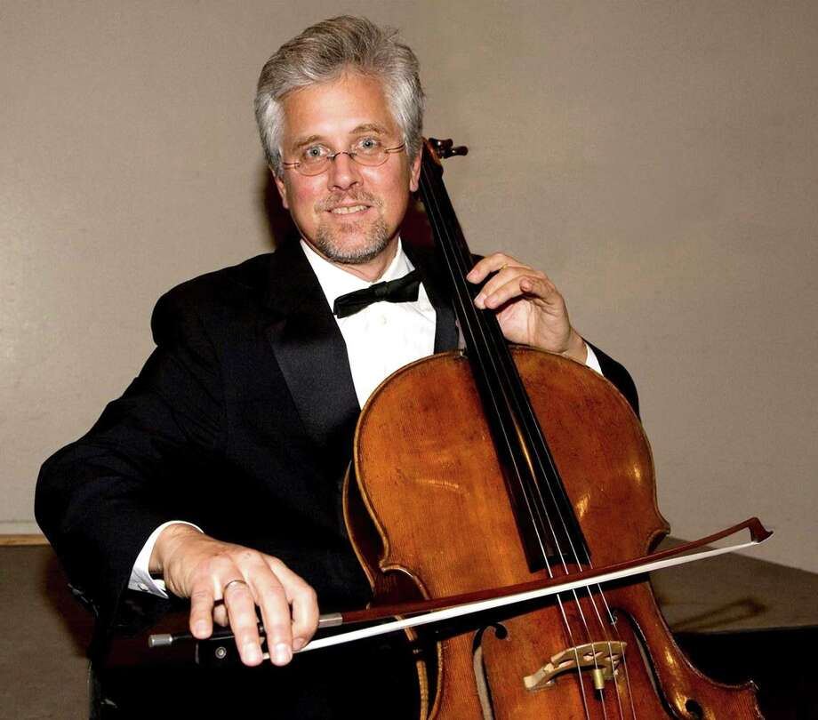 "For its Jan. 26 and 27 concerts, the Greenwich Symphony Orchestra will feature four soloists, each a first chair. The ensemble will include Daniel Miller, cello, pictured; Diane Lesser, oboe; Mark Davies, bassoon; and Krystof Witek, violin. They willl play Haydn's ""Sinfonia Concertante"" along with the orchestra. Photo: Contributed Photo"
