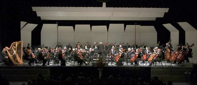 "The Greenwich Symphony Orchestra will present a quartet of its first chairs for a weekend of performances Saturday to Sunday, Jan. 26-27, 2013. The performance, which is set for Greenwich High School in Greenwich, Conn., will feature Haydn's ""Sinfonia Concertante."" For more information about the concerts or tickets, call 203-869-2664 or visit http://www.greenwichsym.org.     From: Staab Diane [mailto:dthomasstaab@yahoo.com] Sent: Wednesday, January 16, 2013 1:52 PM To: Hennessy, Christina Subject: GSO_full orchestra     Christina, Here's the photo.  Diane Staab        GSO_banner no logo Photo: Contributed Photo"