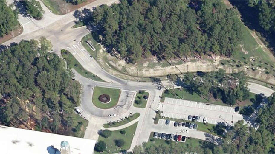 Google Maps view of the scene where shots were fired on the Lone Star College campus in North Harris County. Photo: (Google)
